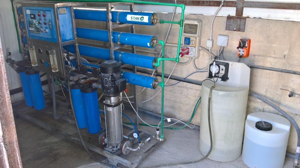 Impianto ad Osmosi Inversa Acque Salmastre – STAM Ecologia