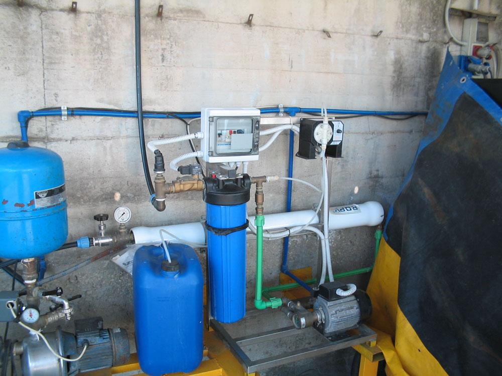 Impianto ad Osmosi Inversa – STAM Ecologia