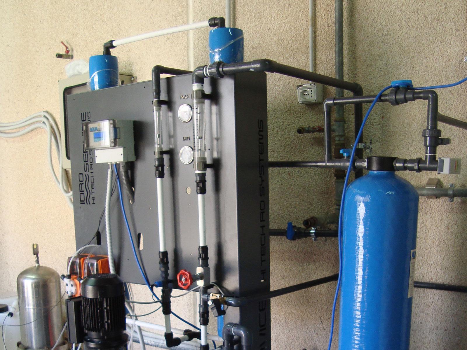 Impianto ad Osmosi e Demineralizzazione – STAM Ecologia