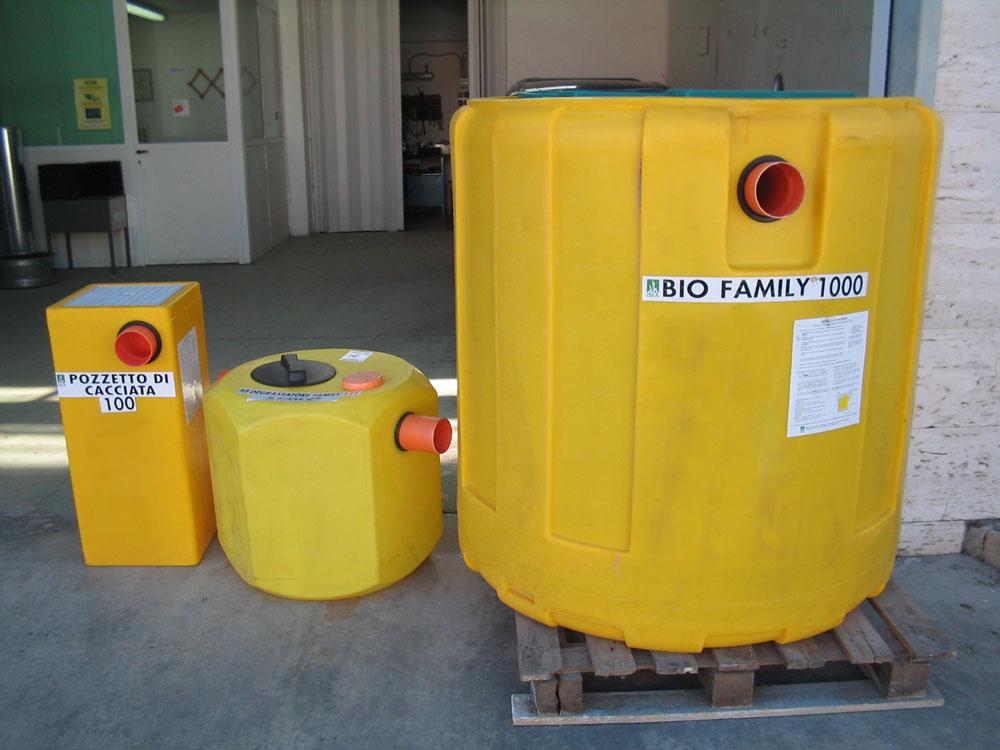 impianto trattamento reflui domestici