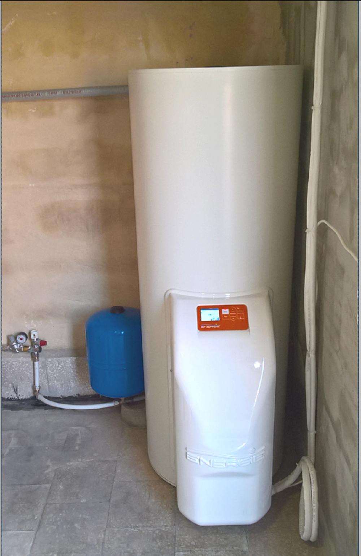 Impianto termodinamico – Acqua calda sanitaria